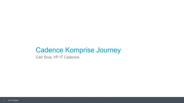 Cut NAS Costs: Why Cadence Chose Komprise