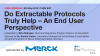 Do Extractable Protocols Truly Help- An End User Perspective