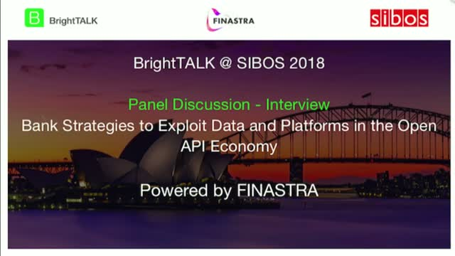 [Panel] Bank Strategies to Exploit Data and Platforms in the Open API Economy