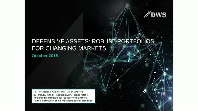 Robust portfolios with ETFs: another look at Defensive Assets