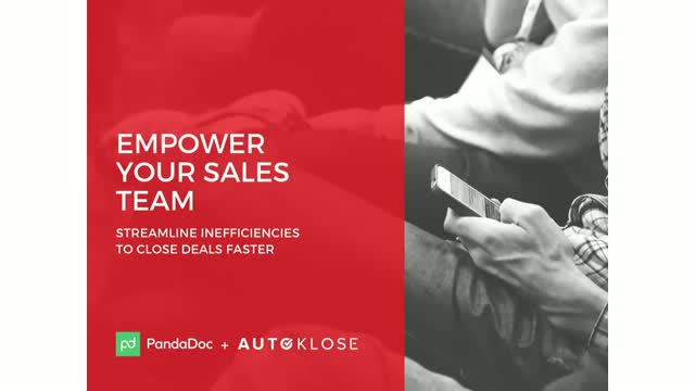 Empower your sales team: Streamline inefficiencies to close deals faster