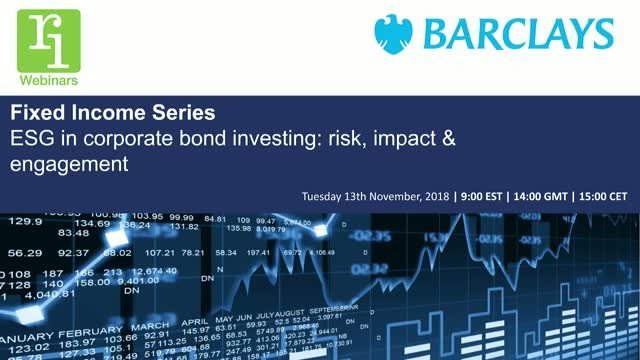 Fixed Income Series | ESG in corporate bond investing: risk, impact & engagement