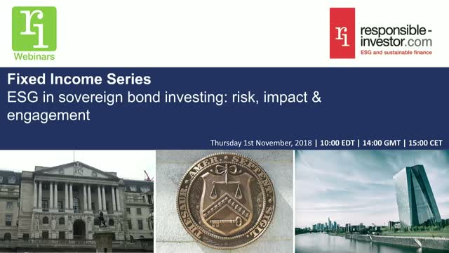 Fixed Income Series | ESG in sovereign bond investing: risk, impact & engagement