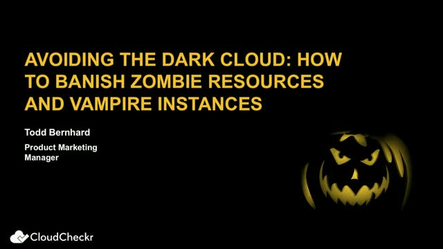 Avoiding the Dark Cloud: How to Banish Zombie Resources and Vampire Instances