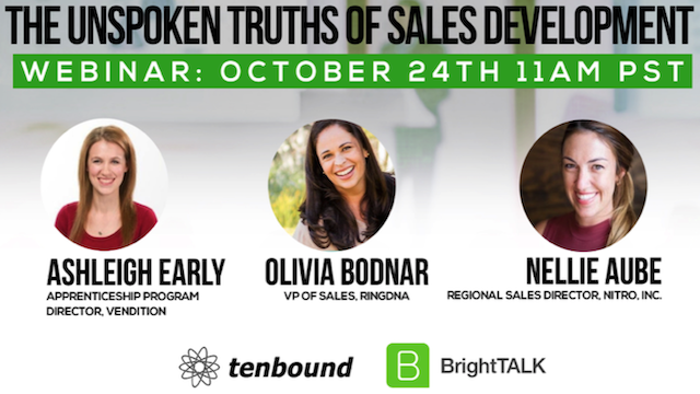 The Unspoken Truths of Sales Development