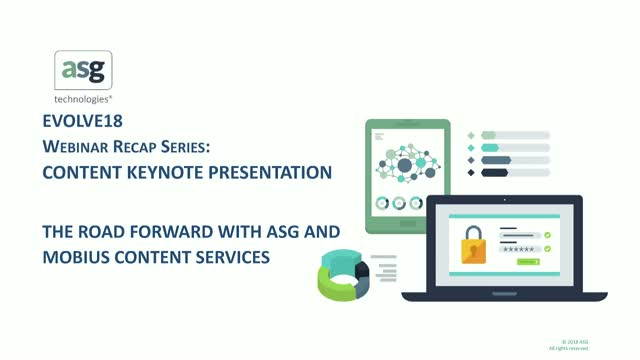 The Road Forward with ASG and the Mobius Content Services Platform