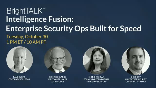 Intelligence Fusion - Enterprise Security Ops Built for Speed