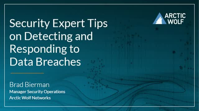 Expert Tips on Detecting and Responding to Data Breaches