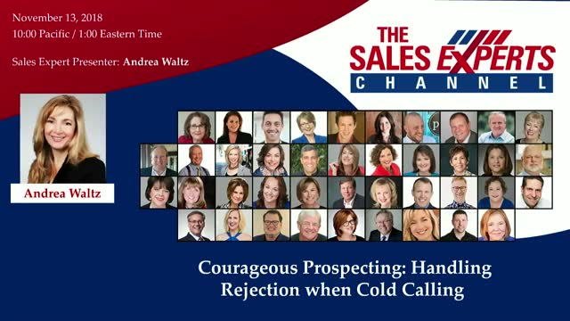 Courageous Prospecting: Handling Rejection when Cold Calling