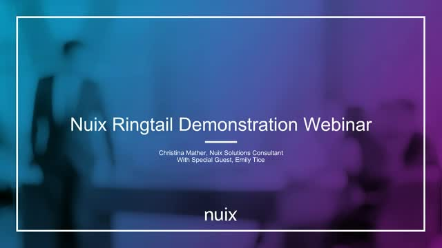 Nuix Ringtail demonstration: removing doubt from your discovery process