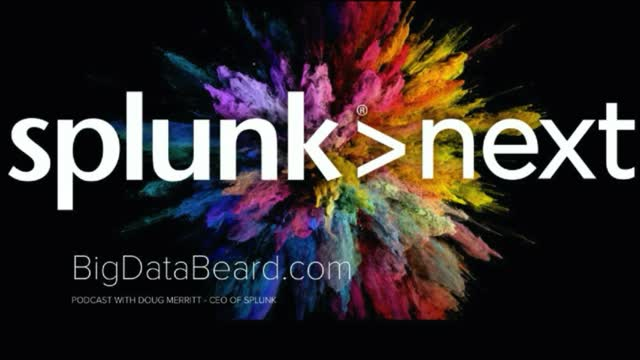 Splunk CEO Doug Merritt Talks with the Big Data Beard at Splunk conf2018