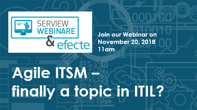Agile ITSM - finally a topic in ITIL?