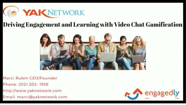 Driving Engagement and Learning with Video Chat Gamification