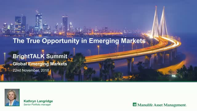 The True Opportunity in Emerging Markets