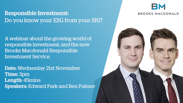 Responsible Investment: Do you know your ESG from your SRI?