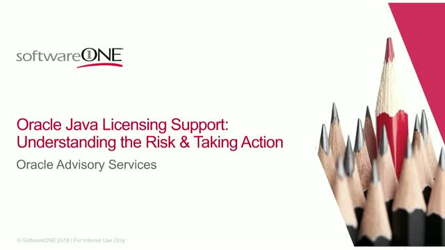 Oracle Java Licensing Support: Understanding the Risk and Taking Action
