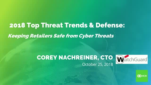Cybersecurity Threats & Defenses: Keeping Retailers Safe from Cyber Threats