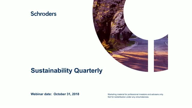 Trick or Treat? Sustainability Quarterly  with Jessica Ground