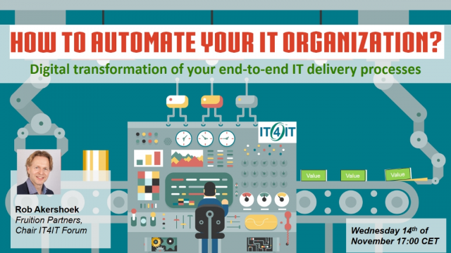 How to Automate Your IT Organization: Digitize End-to-End IT Delivery Processes