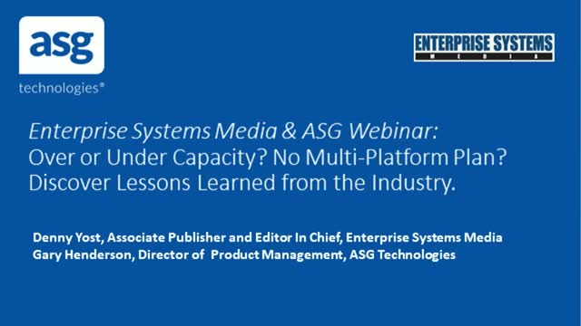 Over or Under Capacity? No Multi-Platform Plan? Lessons From the Industry