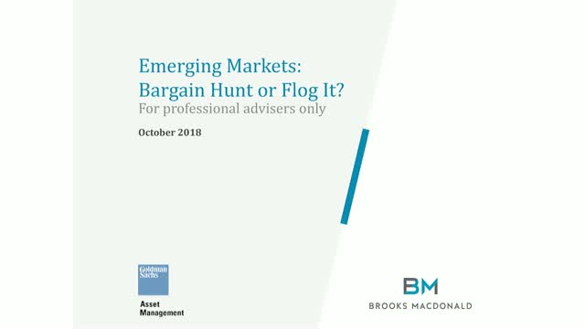 Emerging Markets: Bargain Hunt or Flog It?