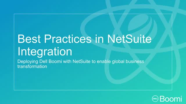 Best Practices in NetSuite Integration