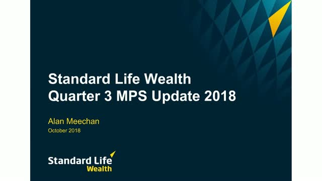 Standard Life Wealth Managed Portfolio Service Q3 update