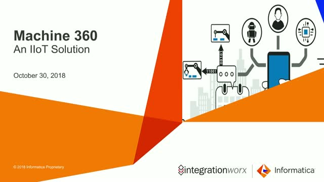 Machine 360  - Leveraging IIoT to Reduce Machine Downtime