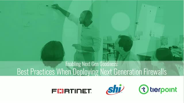 Best Practices when Deploying Next Gen Firewalls: Enabling Next Gen Goodness
