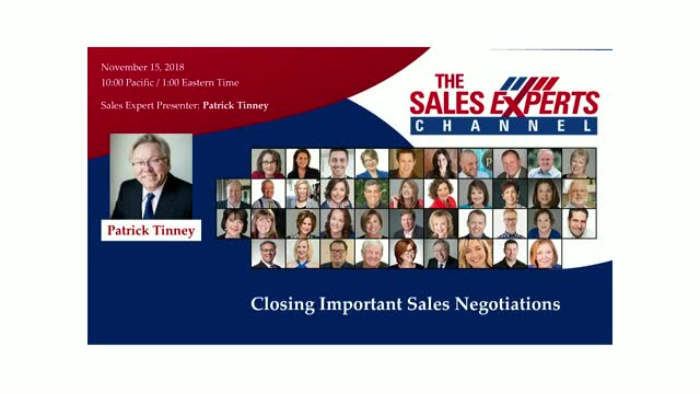 Closing Important Sales Negotiations
