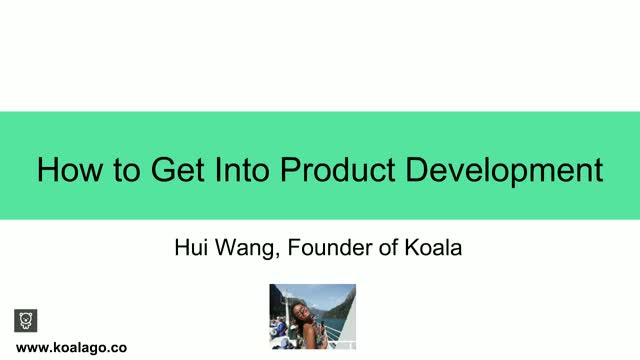 How To Get Into Product Development