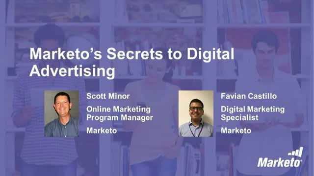 Secrets to Digital Advertising from Marketo