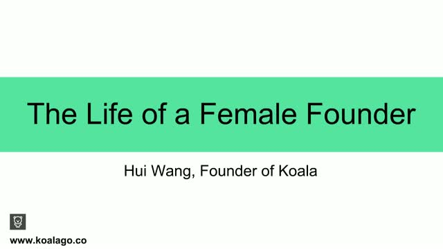 The Life of a Female Founder