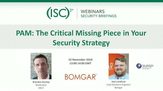 PAM: The Critical Missing Piece in Your Security Strategy
