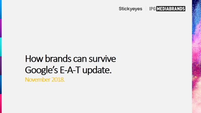 How brands can survive Google's E-A-T update
