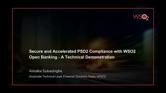 Secure and Accelerated PSD2 Compliance with WSO2 Open Banking