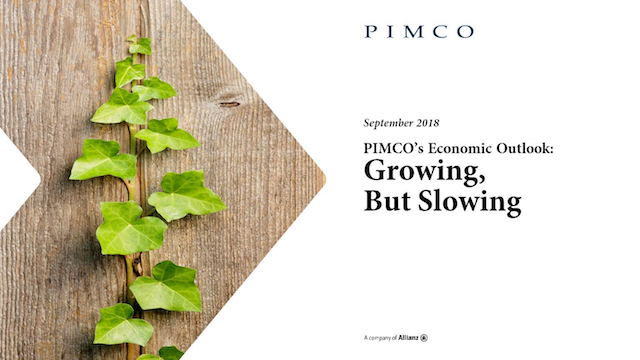 PIMCO's Economic Outlook: Growing, But Slowing