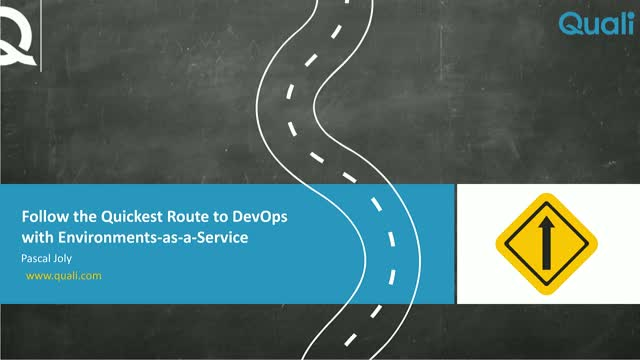 Follow the Quickest Route to DevOps with Environments as a Service