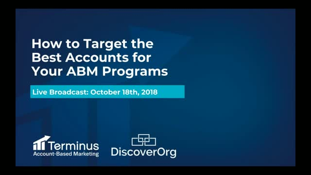 How to Target the Best Accounts for Your ABM Programs