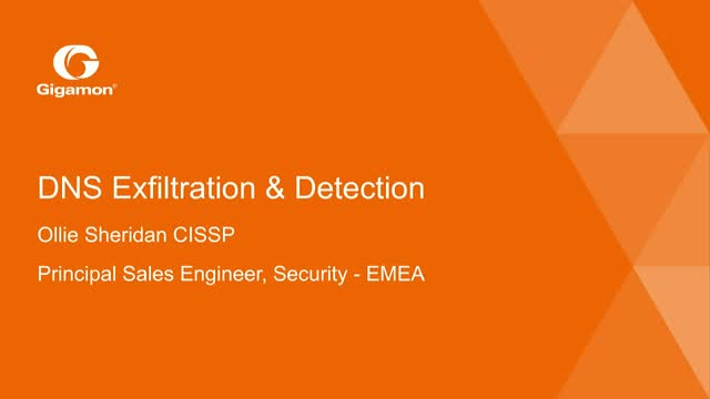 Understanding DNS exfiltration and detection