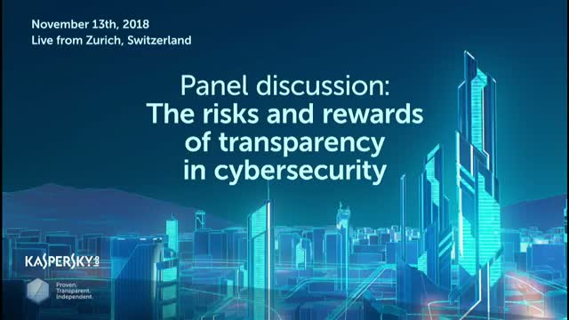 Live panel debate: The risks and rewards of transparency in cybersecurity