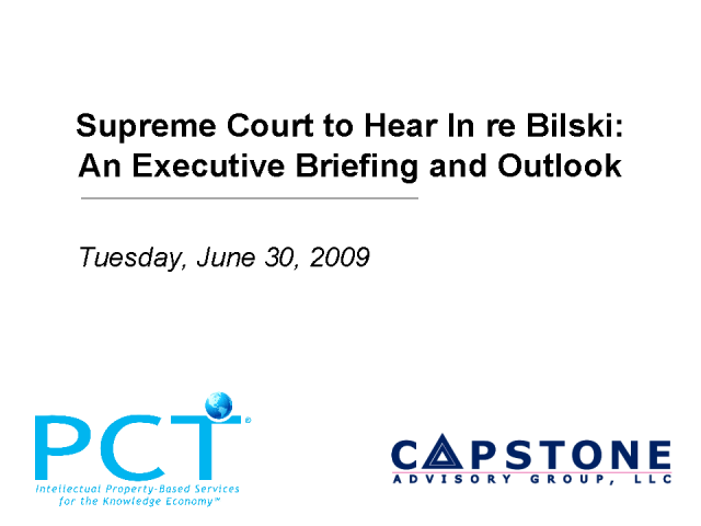 SUPREME COURT TO HEAR IN RE BILSKI: EXECUTIVE BRIEFING & OUTLOOK
