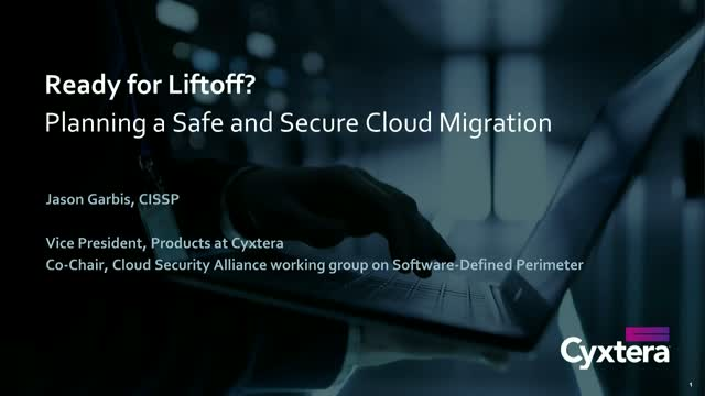 Ready for Liftoff? Planning a Safe and Secure Cloud Migration