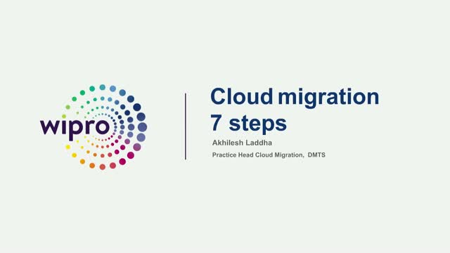 7 Steps of Cloud Application Migration