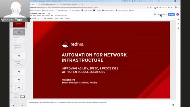 OpenDemo: Network Automation with Ansible Oct. 15
