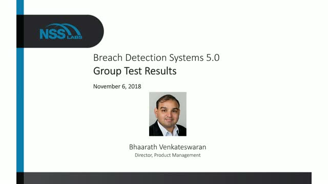 Breach Detection System (BDS) 5.0 Group Test Results