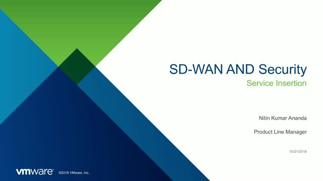 SD-WAN & Security: Service Insertion