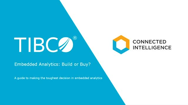 Embedded Analytics: Buy or Build?