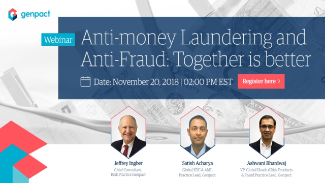 Anti-money Laundering and Anti-Fraud: Together is better