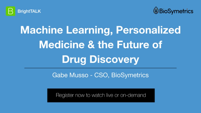 Machine Learning, Personalized Medicine, and the Future of Drug Discovery